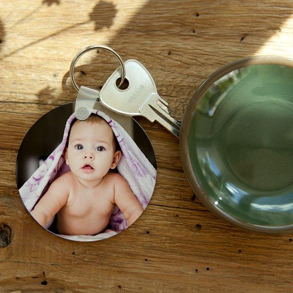 Personalisierte Foto-Schlüsselanhänger