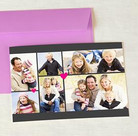 Fotokarten Multi-Fotos 3 & +