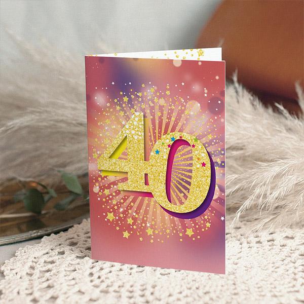Erwachsener Einladungskarten Geburtstag