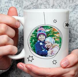 Fototasse Weihnachten