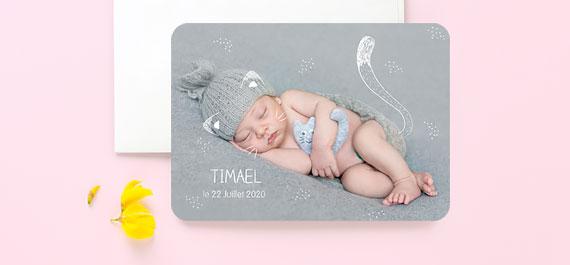Geburtskarten Neuheiten