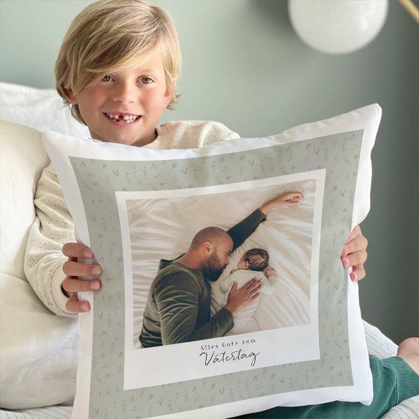 Personalisierte Foto-Kissen
