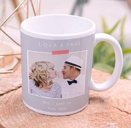 Fototasse Hochzeit