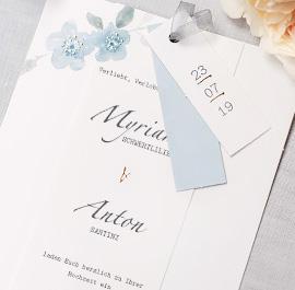 Elegante Hochzeitskarten