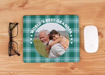 Personalisierte Foto-Mousepad