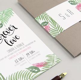 Pocketfold Hochzeitseinladungen