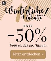 BIS ZU -50% Rabatt