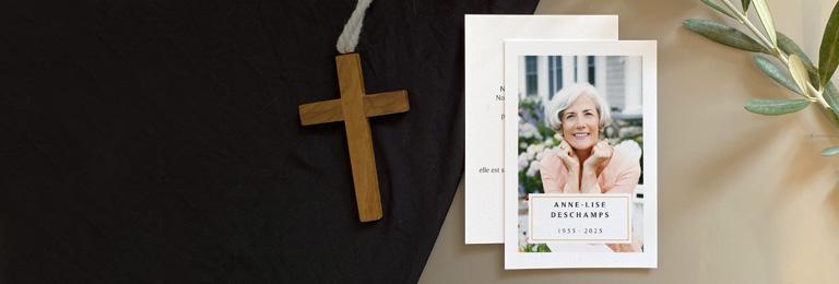 Christlich Dankeskarten Trauer