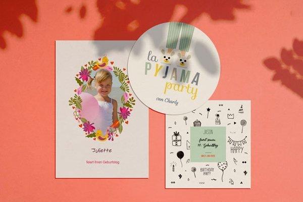 Einladungskarten Geburtstag