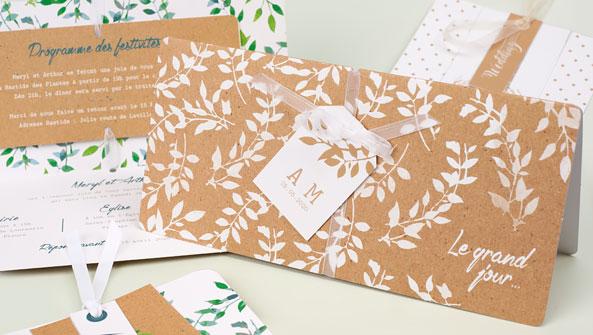 Hochzeitskarten Pocketfold