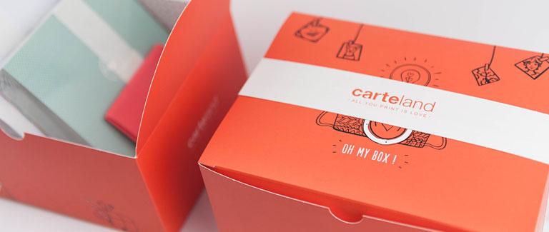 Geschenkebox Carteland